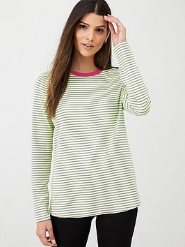 v-by-very-contrast-neck-long-sleeve-stripe-tee-multi