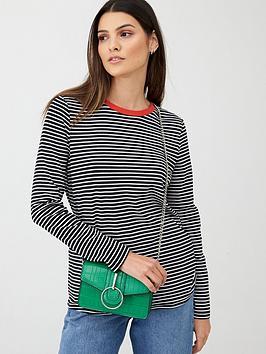 v-by-very-contrast-neck-long-sleeve-stripe-tee-mono-stripe