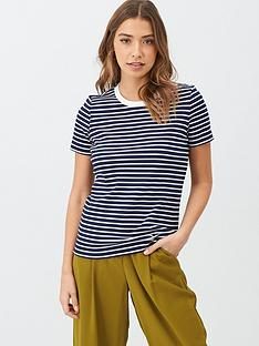 v-by-very-contrast-rib-stripe-t-shirt-navywhite