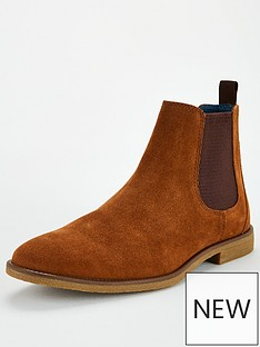 burton-menswear-london-suede-chelsea-boot-tan