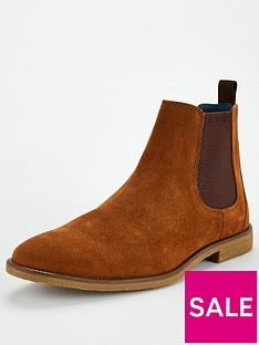 burton-menswear-london-suede-chelsea-boot-tan