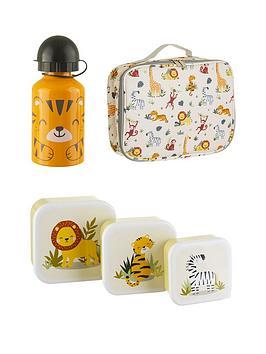 sass-belle-savanna-safari-set-of-3-lunchboxes-water-bottle-lunch-bag