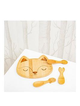 sass-belle-woodland-baby-bamboo-tableware-set