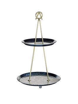 kitchencraft-artesagrave-2-tier-cupcake-stand-and-serving-platter