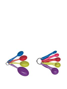colourworks-5-piece-measuring-spoon-and-4-piece-measuring-cup-set