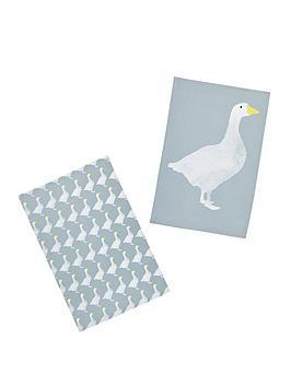 kitchencraft-goose-tea-towels