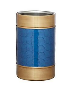 barcraft-barcraft-stainless-steel-blue-and-brass-finish-wine-cooler