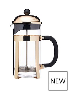 lexpress-brass-finish-stainless-steel-8-cup-french-press-cafetiegravere