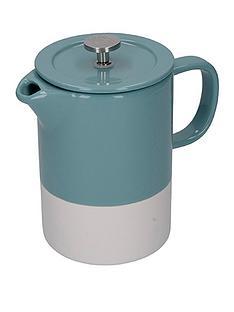 la-cafetiere-la-cafetire-barcelona-retro-blue-6-cup-ceramic-cafetiere