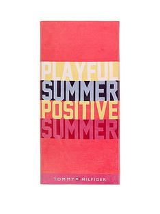 tommy-hilfiger-playful-beach-towel