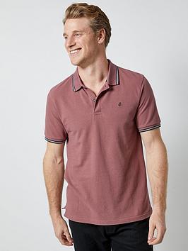 burton-menswear-london-burton-tipped-pique-polo-shirt-pink