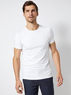 burton-menswear-london-burton-muscle-fit-crew-neck-t-shirt-white