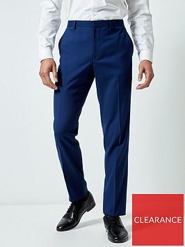burton-menswear-london-plain-skinny-suit-trousers-blue