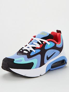 nike-air-max-200-junior-trainers-blue