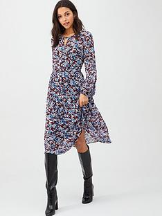 tommy-hilfiger-kaesha-long-sleeve-dress-floral