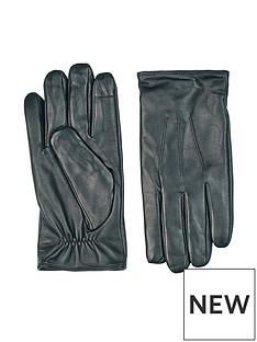 burton-menswear-london-leather-gloves-blacknbsp