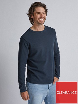 burton-menswear-london-burton-long-sleeve-waffle-t-shirt-navy