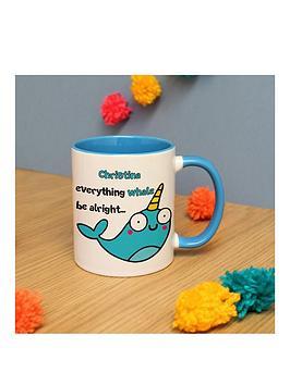 everything-whale-be-alright-mug