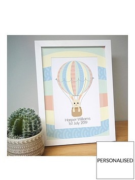 personalised-new-arrival-a4-framed-print