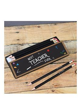 best-teacher-chalkboard-pencils