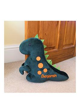 personalised-dinosaur-doorstop