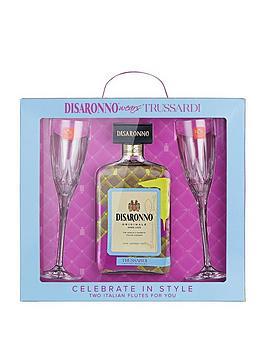 disaronno-disaronno-amaretto-trussardi-70cl-gift-set-with-2-flutes