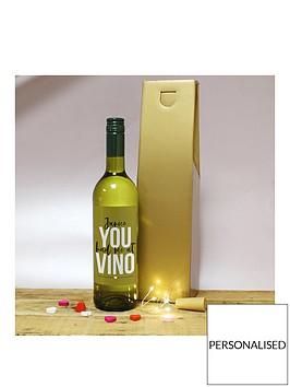 personalised-white-vino-in-gold-box