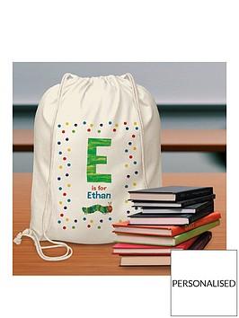 personalised-hungry-caterpillar-kit-bag