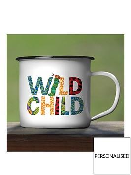 personalised-hungry-caterpillar-enamel-mug