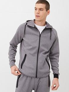 v-by-very-textured-zip-through-hoodie-grey