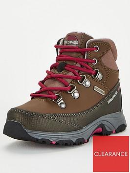 trespass-glebe-ii-walking-boots-tanpink
