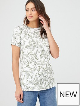 v-by-very-printed-tee-leaf-print