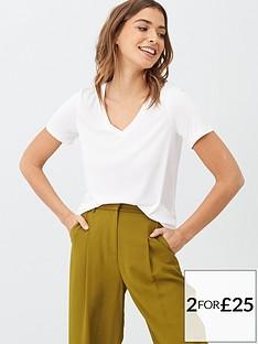 v-by-very-the-essential-v-neck-premium-t-shirt-white