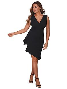 sistaglam-loves-jessica-timara-asymmetricnbspmidi-dress-black