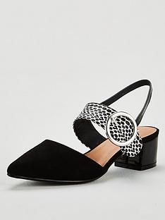 wallis-wallis-circle-buckle-slingback-court-shoe