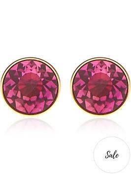 kate-spade-new-york-mini-round-studs-fuchsia-pink