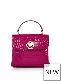 kate-spade-new-york-romy-croc-embossed-top-handle-cross-body-bag-pink