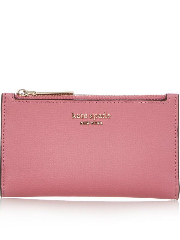 KISSFRIDAY Blue Simple Women Wallets Fashion Wristlet Handbag Long Zipper Coin Purse