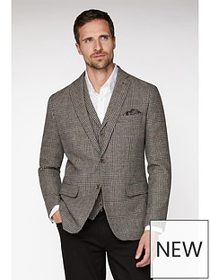 jeff-banks-jeff-banks-heritage-dogstooth-blazer-in-tailored-fit