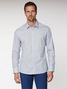 jeff-banks-jeff-banks-white-micro-paisley-print-tailored-fit-shirt