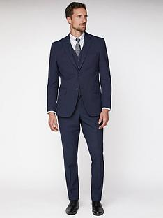 jeff-banks-texture-travel-suit-jacket-navy