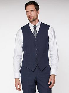 jeff-banks-jeff-banks-texture-travel-waistcoat-in-regular-fit-navy