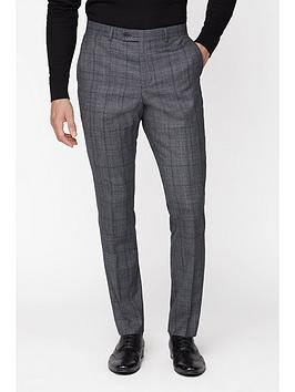 jeff-banks-jeff-banks-check-ivy-league-suit-trousers-in-slim-fit-grey