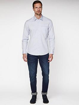 jeff-banks-oval-dobby-tailored-fit-shirt-white