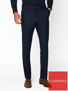 jeff-banks-jeff-banks-jaspe-check-ivy-league-suit-trousers-in-slim-fit-blue