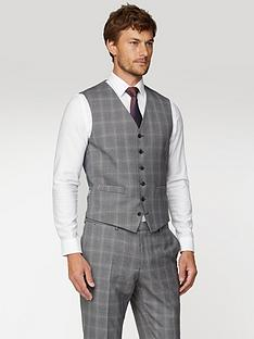jeff-banks-mulberry-check-soho-waistcoat-in-modern-regular-fit-grey