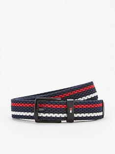 tommy-hilfiger-denton-elastic-stripe-belt-navy