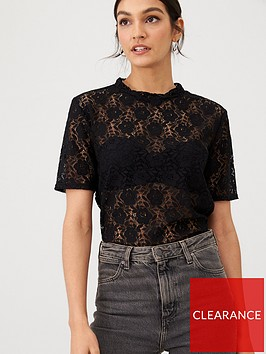 v-by-very-floral-lace-boxy-top-black
