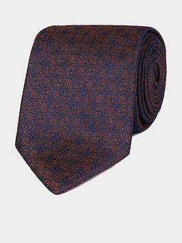 jeff-banks-jeff-banks-intricate-deco-silk-tie-burnt-orange