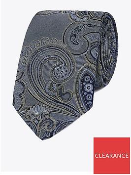 jeff-banks-intricate-paisley-silk-tie-grey